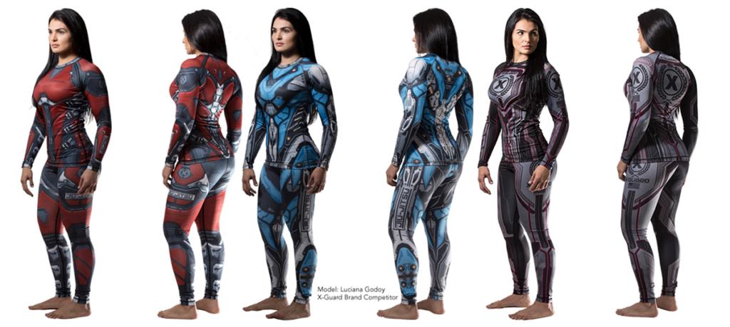 X-Guard-Brand-model-Luciana-Godoy-Art-and-design-Mike-Morgan-Designs