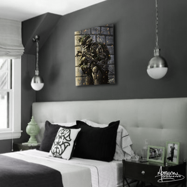Canvas art for Teens boys bedroom