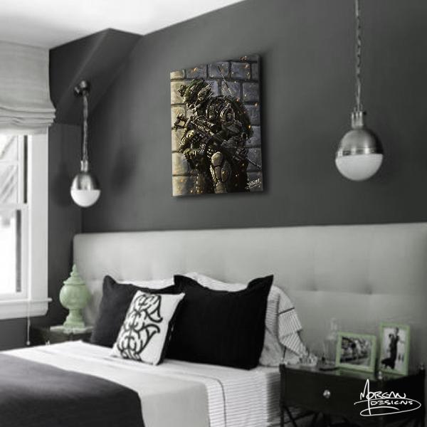 Canvas art for Teens boys bedroom