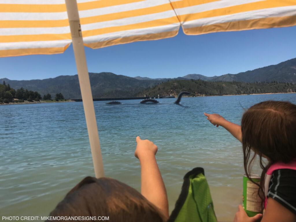 Shasta Lake monster Lock NESS