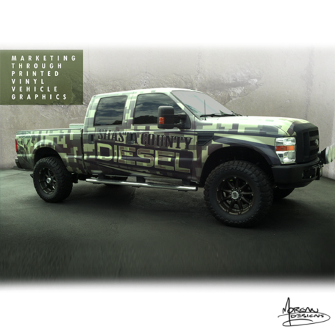 truck and vehicle graphics by mike morgan redding